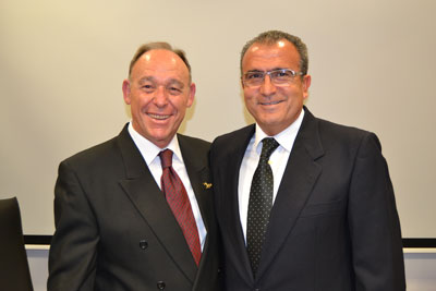 D. Ginés Doménech Ratto  y D. Jose Antonio Soler Ródenas