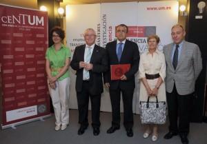 convenio entre la UMU y la fundación española de osteopatia