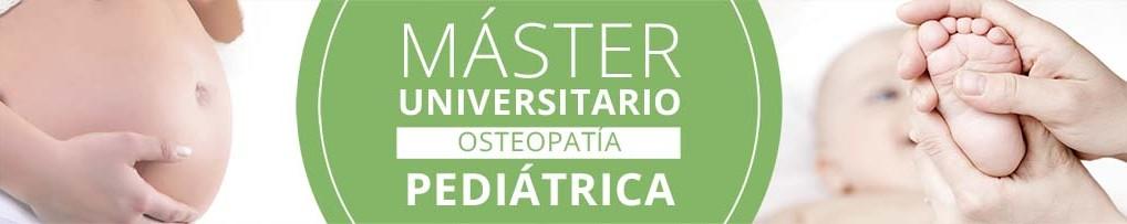 Información Máster Universitario en Osteopatía Pediátrica