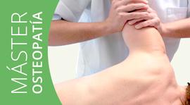 Máster Osteopatía Matricula 2014