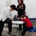 practicas alumnos osteopatía pediatrica 1