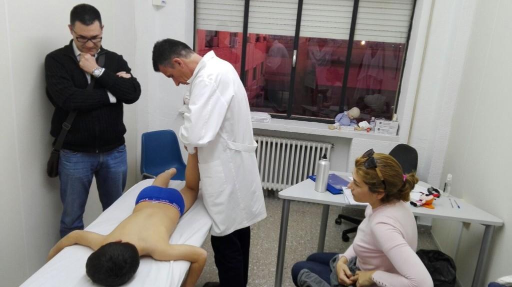 prácticas del Máster universitario en Osteopatía Pediátrica