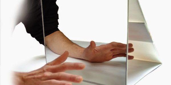 Osteopatía y terapia del espejo para el dolor del miembro fantasma