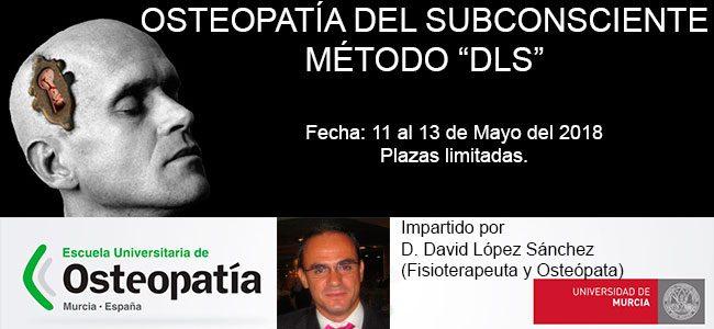 CURSO OSTEOPATÍA DEL SUBCONSCIENTE-MÉTODO DLS