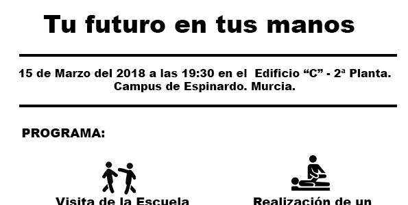 2ª Jornada de puertas abiertas el  día 15 de marzo del 2018