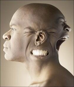 Umbrales más de la región cráneo-cervical en el dolor de cabeza dolor de la presión