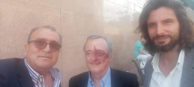 Pepe Soler con Mariano Barbacid, prestigioso investigador, un eminencia en el mundo de la Oncología y Jorge Aranda