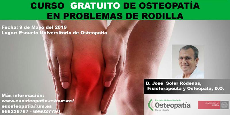 Osteopatia en problemas de rodilla