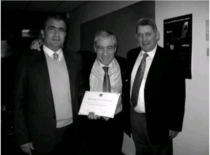 Fallece el profesor Juan Montoro Hernandez, uno de los fundadores de la Escuela Universitaria de Osteopatía.